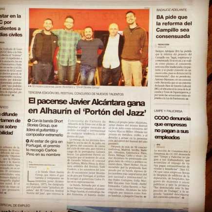 Javier Alcántara Festival Jazz